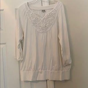 Madison cream blouse